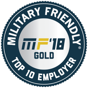 TMC Transportation Named a 2018 Top 10 Military Friendly Employer