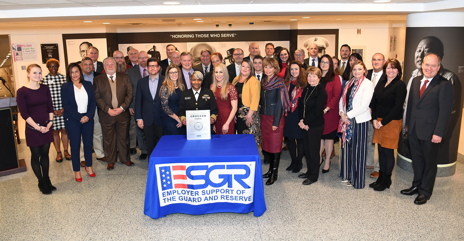 2018 Employer Support of the Guard and Reserve (ESGR) Signing Ceremony