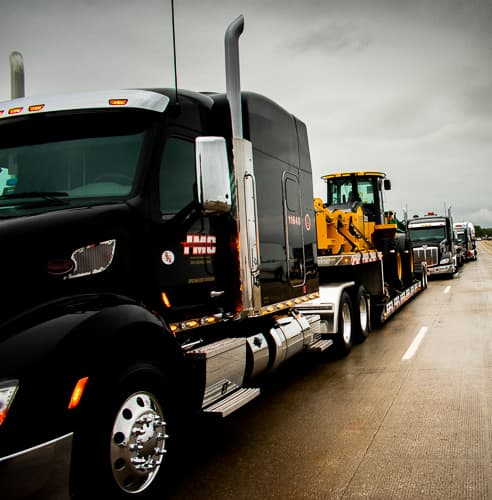 Special Olympic of Iowa Truck Convoy