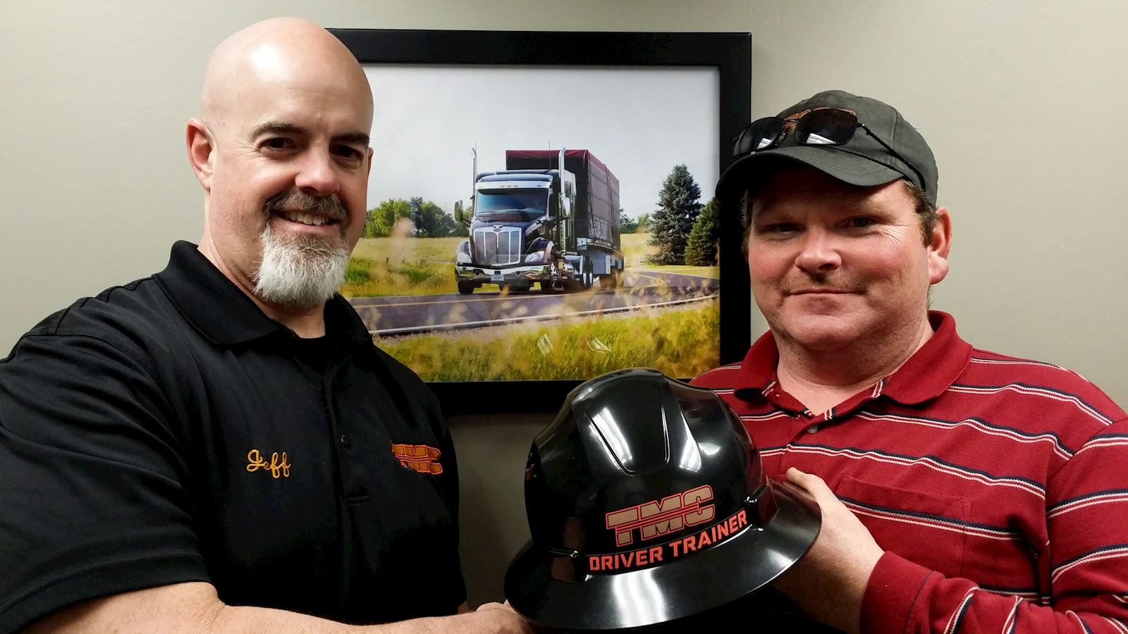 TMC Names Wesley Barber as Driver Trainer of the Month